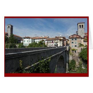 Devil's Bridge and Cividale del Friuli, Italy Card