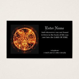 devil's business card