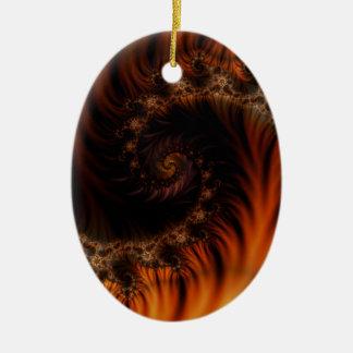 Devils Den Ceramic Ornament