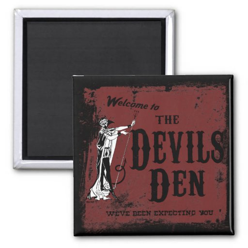 Devil's Den Magnet