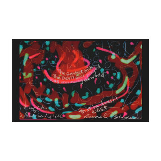 devils game canvas print