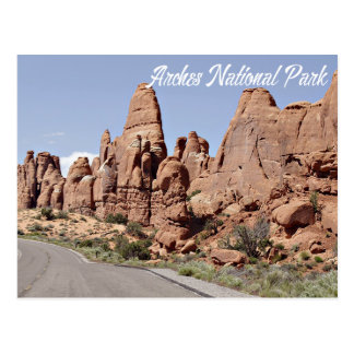 Devil's Garden Arches National Park, Utah - USA Postcard