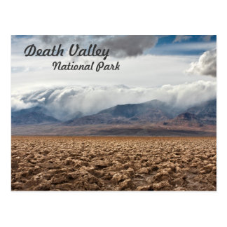 Devils Golf Course in Death Valley Postcard