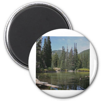 Devils Lake, Oregon 2 Inch Round Magnet