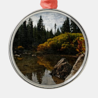Devils Lake, Oregon Art Metal Ornament