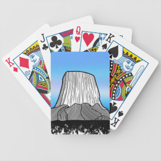 Devil's Tower Bicycle Playing Cards
