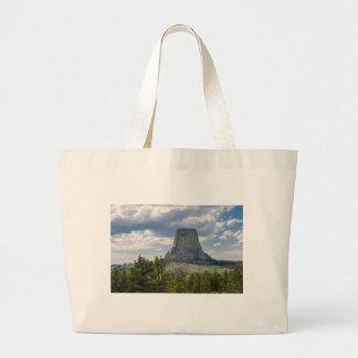 Devil's Tower Large Tote Bag