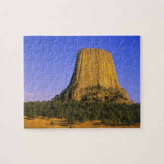 Devils Tower National Monument in Wyoming Jigsaw Puzzle