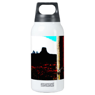 Devils Tower National Monument Insulated Water Bottle
