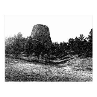 Devils Tower National Monument Postcard