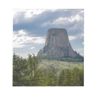Devil's Tower Notepad