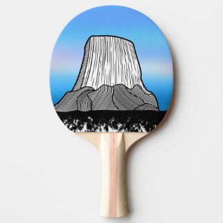 Devil's Tower Ping Pong Paddle