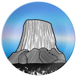 Devil's Tower Plate