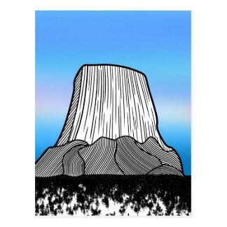Devil's Tower Postcard