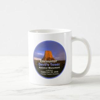 Devil's Tower WYOMING Coffee Mug