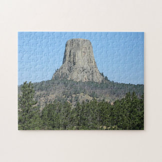 Devils Tower, Wyoming Jigsaw Puzzle