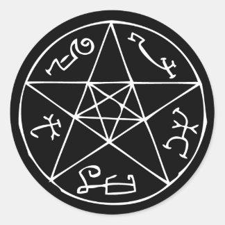 Devil's Trap Classic Round Sticker