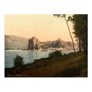 Devin and the Danube, Slovakia Postcard