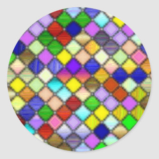 Devine Brightness Classic Round Sticker