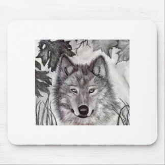 Devin's Wolf Mouse Pad