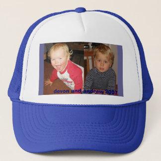 devon and andrew 2007 trucker hat