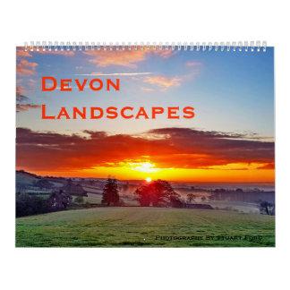 Devon Landscapes Original Photograph Calendar