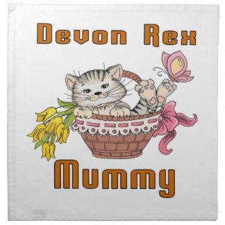 Devon Rex Cat Mom Napkin