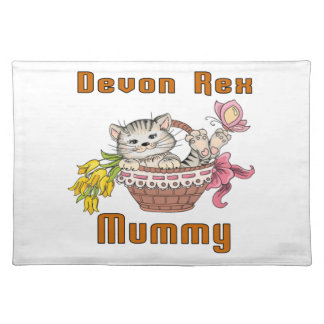 Devon Rex Cat Mom Placemat