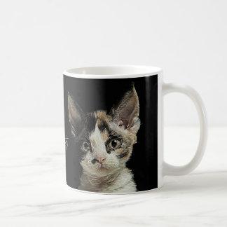 Devon Rex Kitten Coffee Mug