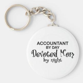 Devoted Mom - Accountant Keychain