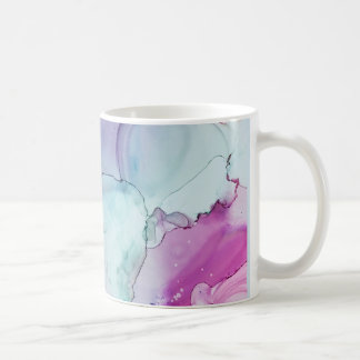 Devotion - Abstract Ink Art by Karen Ruane Coffee Mug