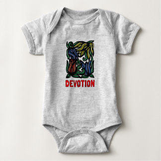 """Devotion"" Baby Jersey Bodysuit"