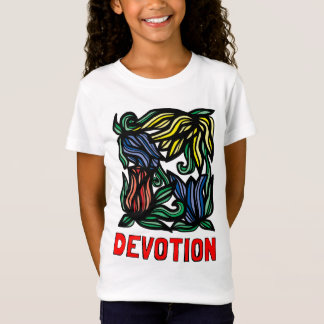"""Devotion"" Girls' Fine Jersey T-Shirt"