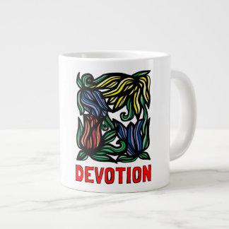 """""""Devotion"""" Jumbo Mug"""