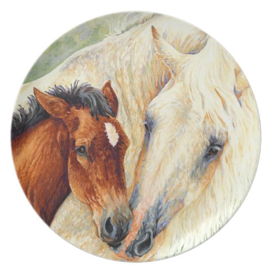 Devotion - Mare and Foal Plate