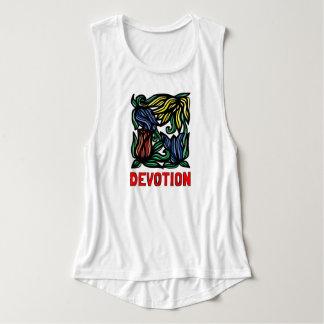 """""""Devotion"""" Women's Flowy Muscle Tank Top"""