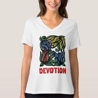 """Devotion"" Women's Relaxed Fit V-Neck T-Shirt"