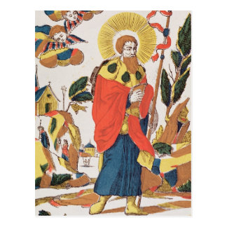 Devotional Prayer to St. James Postcard