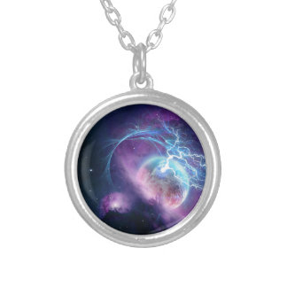 Devourer Of Planets Silver Plated Necklace
