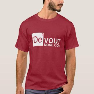 DevoutNone.com Logo T-Shirt
