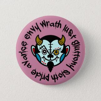"""DEVULL """"Seven Deadly Sins"""" Button badges"""