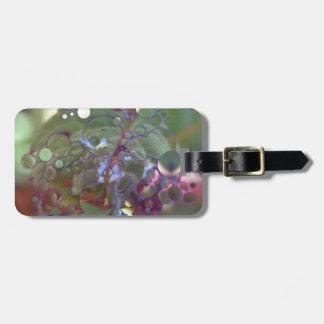 Dew Circles Luggage Tag