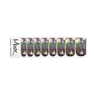 Dew Circles Minx Nail Art