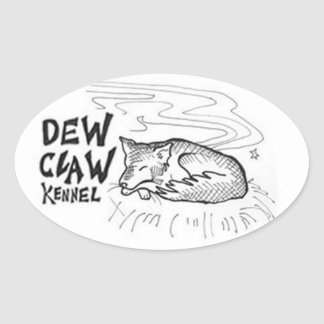 Dew Claw Kennel Stickers