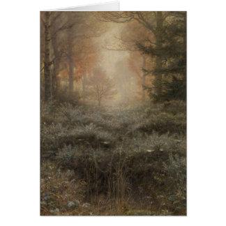 Dew Drenched Furze - John Everett Millais Card
