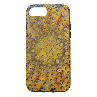 Dew Drop reflection of flower, Crescent City, iPhone 7 Case