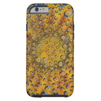 Dew Drop reflection of flower, Crescent City, Tough iPhone 6 Case