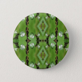 Dew Drops 1 2 Inch Round Button