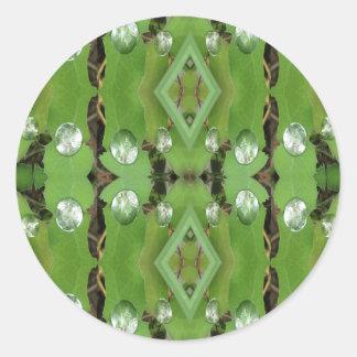 Dew Drops 1 Classic Round Sticker