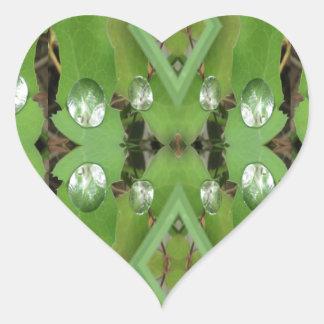Dew Drops 1 Heart Sticker